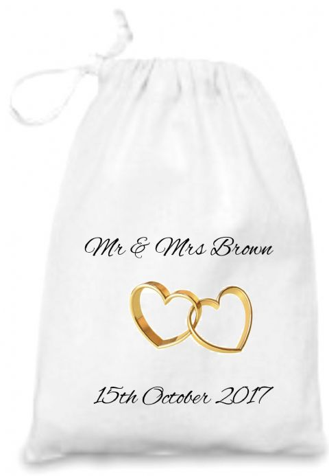 Wedding Rings Gift Bag